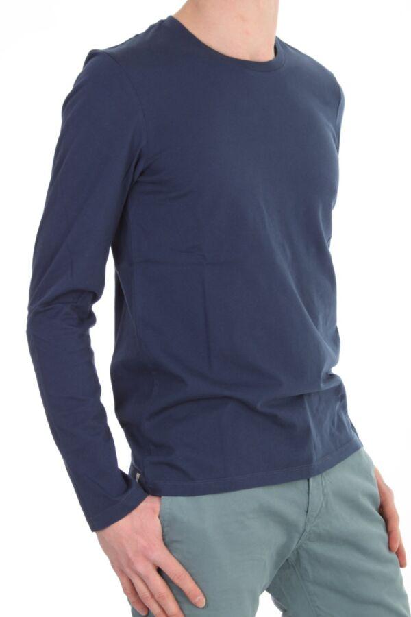 T-shirt met ronde hals en lange mouw van Closed C85655-499-20