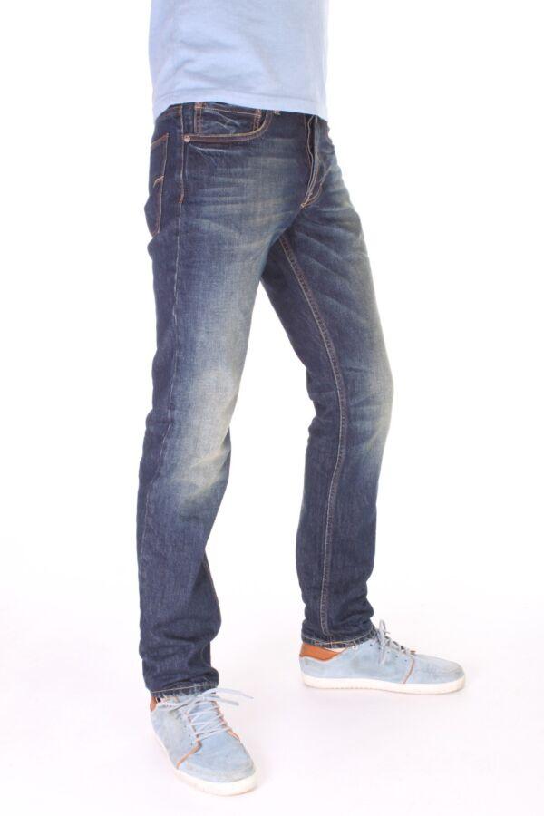 Baxten Slim Leg Jean van Gilded Age - 18GA1011-SUX Dark
