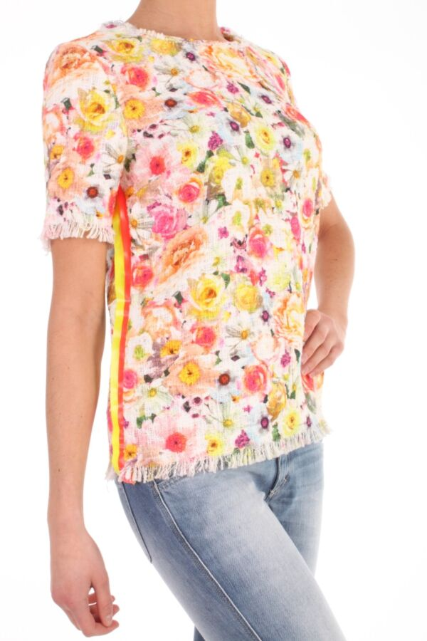 Top van MSGM 146MDM40 23874 01 bloemen