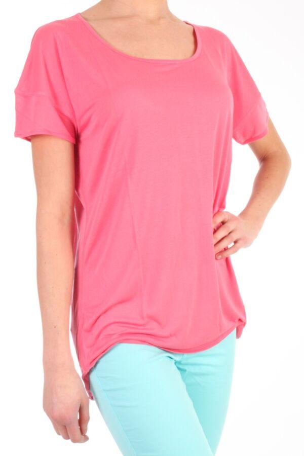 Habba Plain top van 2ND Day in de kleur Camellia Rose 213124007.