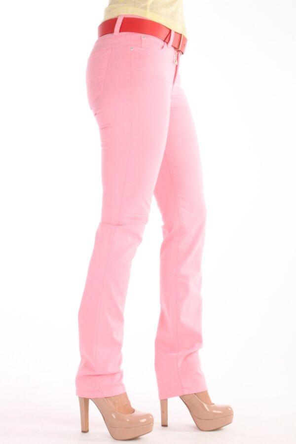 Skinny colored denim van Not Your Daughters Jeans in de kleur Flamingo 30965DT
