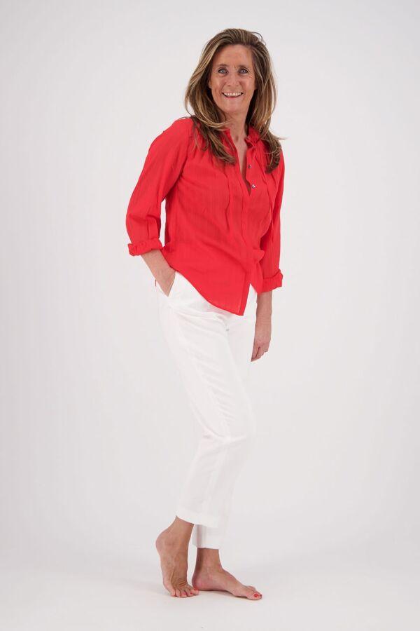 Filippa K Karlie Trouser White 25857 1009