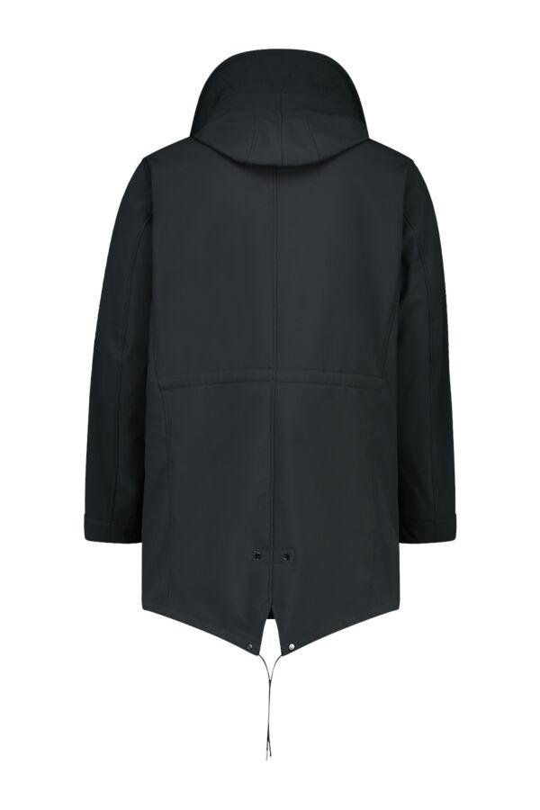 C.P. Company Softshell Jacket Black Coffee - 05CMOW008A 005242A 392
