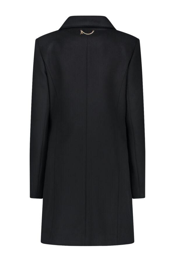 Patrizia Pepe Coat Nero - 2S1182 A171 K103