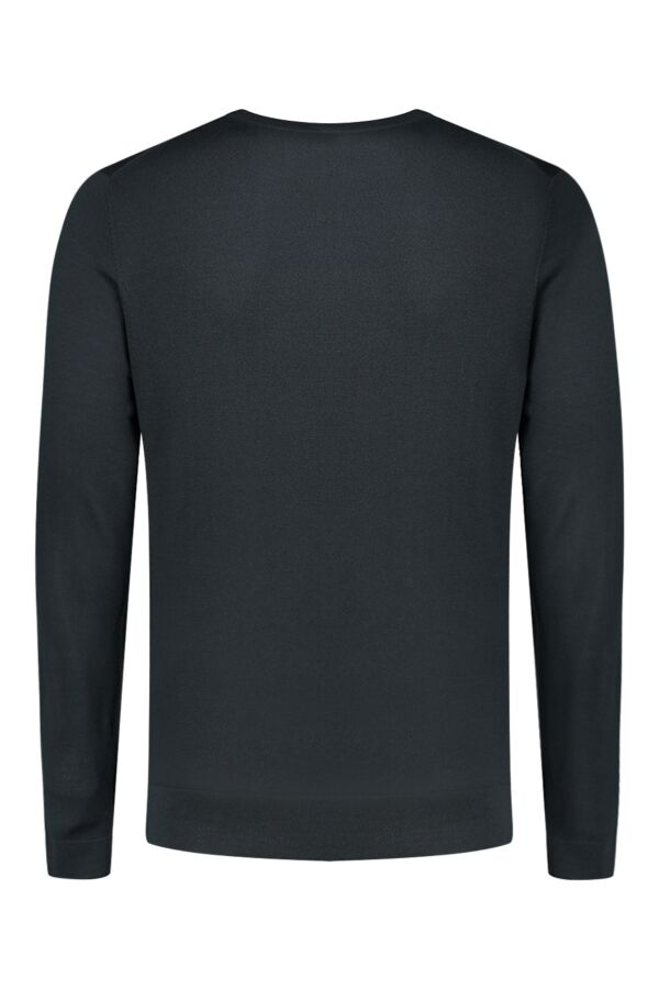Filippa K Fine Merino R-Neck in Dark Spruce - 14829 7985