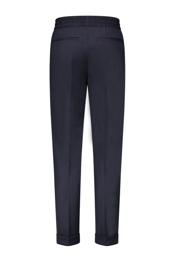 Filippa K Terry Cropped Trouser Navy - 22023 2830