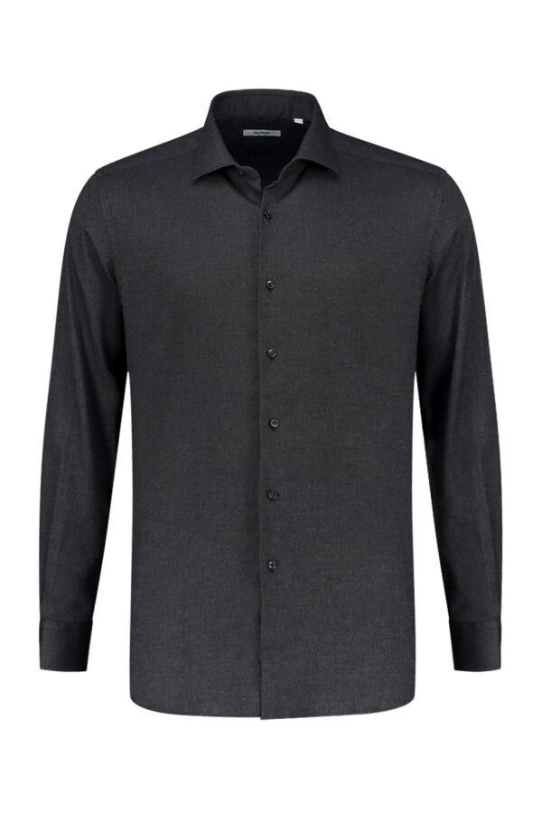 Bloom Fashion Shirt Katoen Stretch 31104 005 Zwart