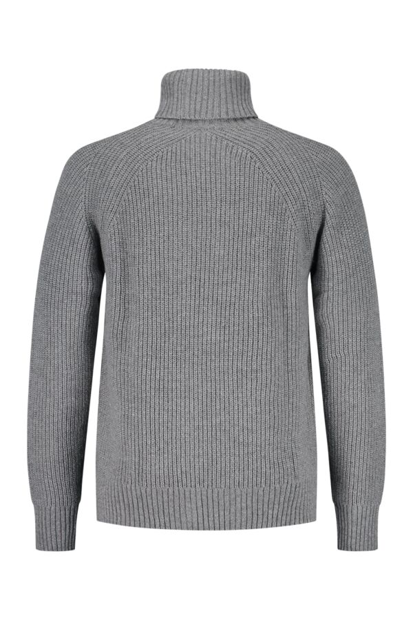 Filippa K Winter Wool Turtleneck Grey Mel. - 25286 1448