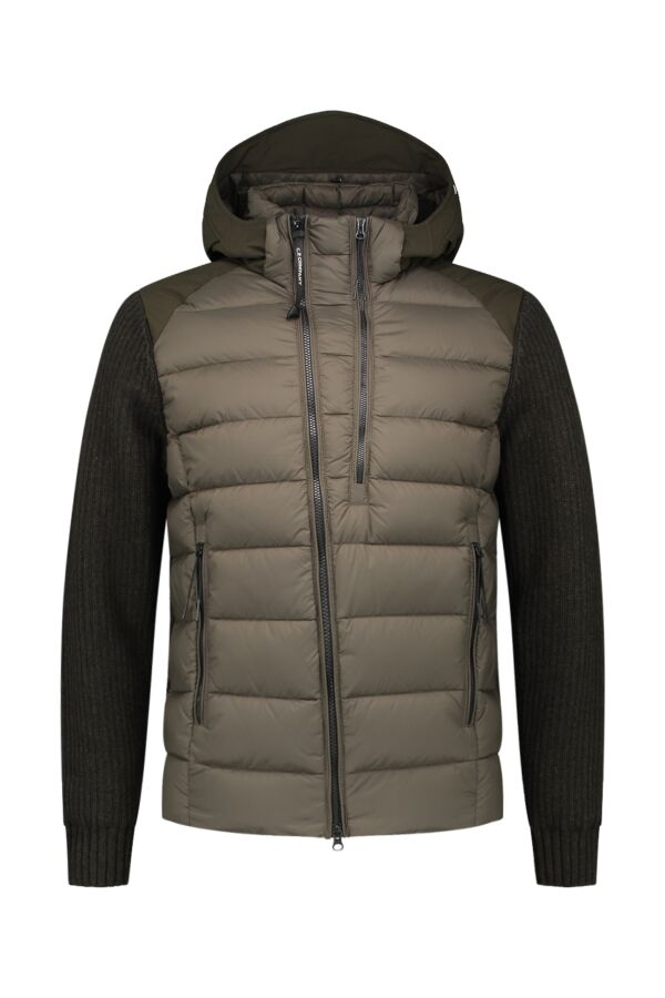 C.P. Company Knit Jacket Cloudburst - 05CMKN024A 004306M 922