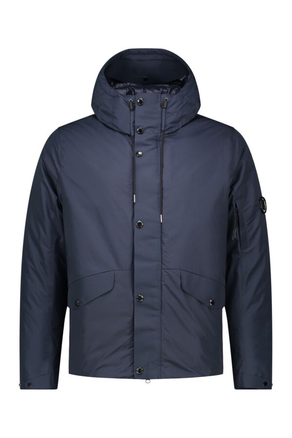 C.P.Company Outerwear Micro-M Jacket Total Eclipse - 05CMOW090A 004275A 888