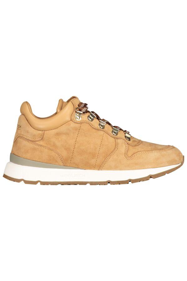 Woolrich Footwear Jogger Trail Camoscio Nut - W3102301