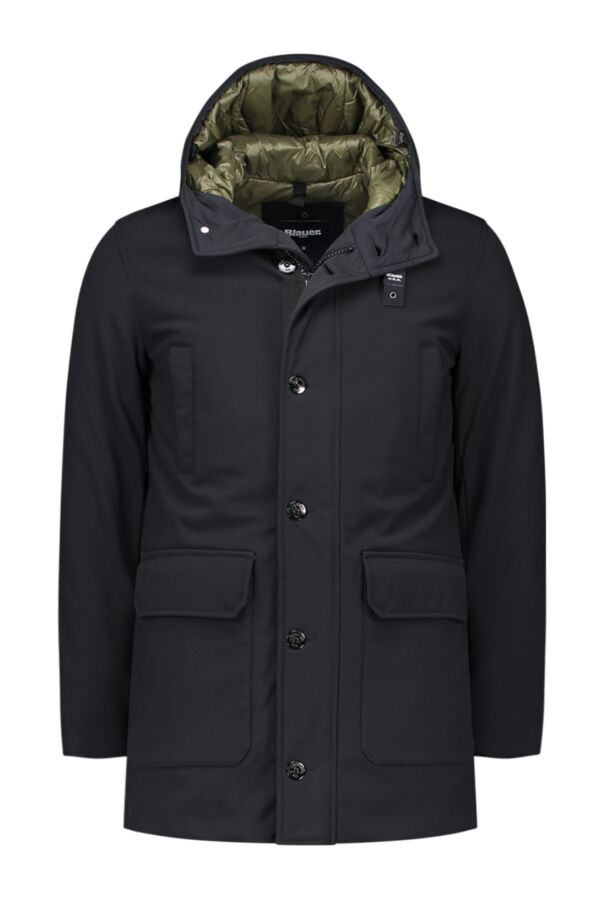 Blauer USA Coat Zwart - 18WBLUK03245 004723 999