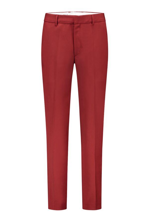 Filippa K Emma Crop Trousers 25503 Cool Wool Deep Red