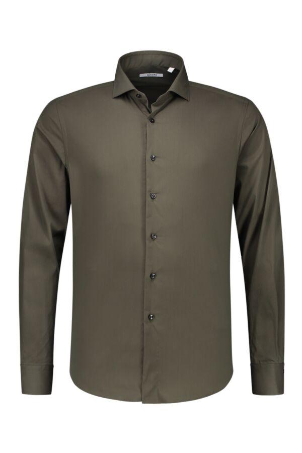 Bloom Fashion Shirt in Donkergroen - 558ML 397
