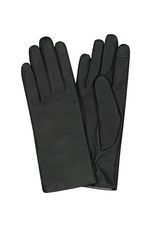 Filippa K Touch Gloves in Emerald - 25565 7906