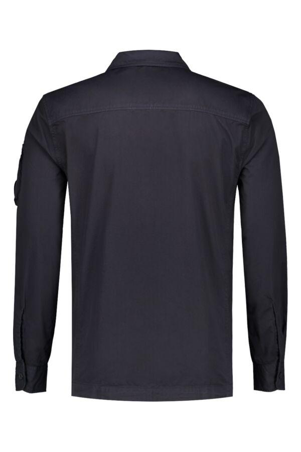 C.P. Company Overshirt Gabardine Total Eclipse - 06CMSH071A 005383O 888