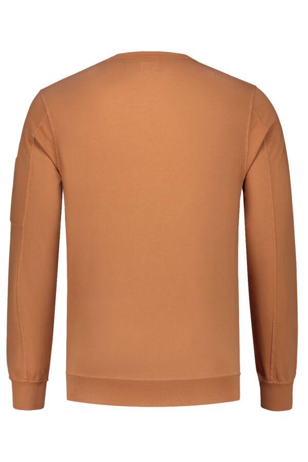 C.P. Company Sweater Crew Neck Topaz - 06CMSS047A 002246G 435