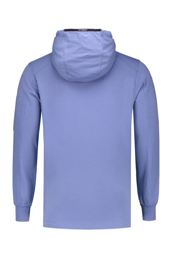 C.P. Company Hooded Sweat Dutch Blue - 06CMSS115A 002246G 874