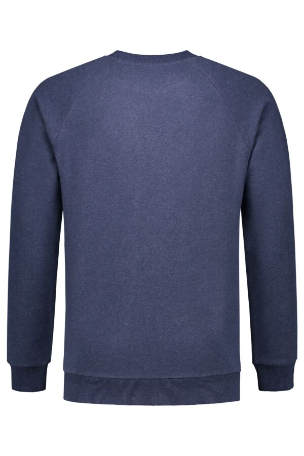Knowledge Cotton Apparel Sweater Melange Insigna Blue Melange - 30395 1257