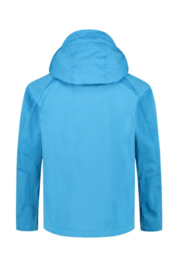 Ten C Tempest Anorak Turquoise - 17CTCUC04055 002105 834