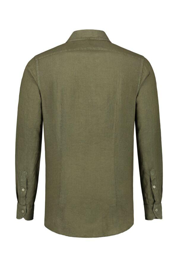 Bloom Fashion Linnen Shirt Army - 748ML 41125 611