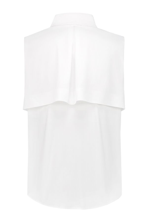 Patrizia Pepe Blouse Bianco Ottico - 2C1141 A01 W103