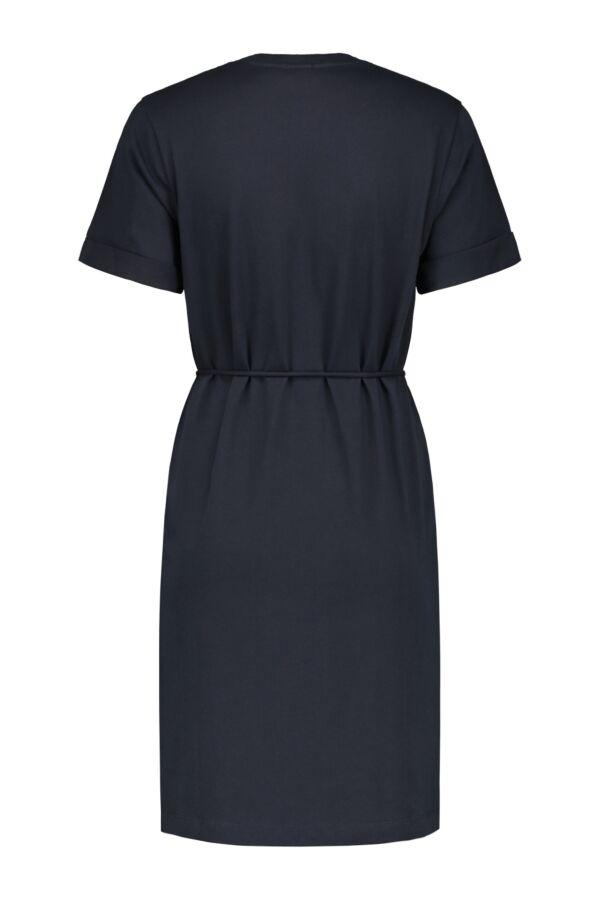 Filippa K Crew Neck T-Shirt Dress- 26091 2830 Navy