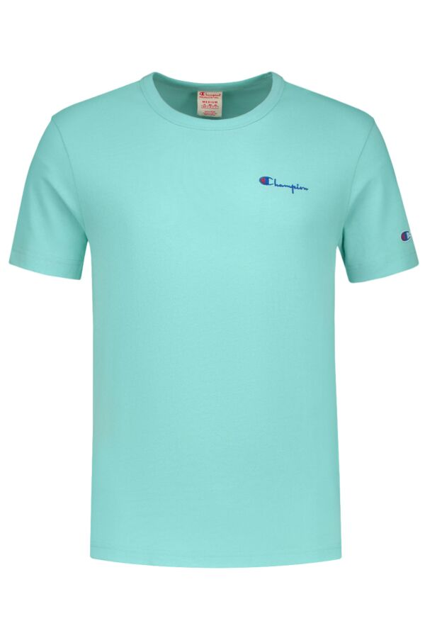 Champion T-Shirt Crewneck in Turquoise - 211985 BS094 AHZ