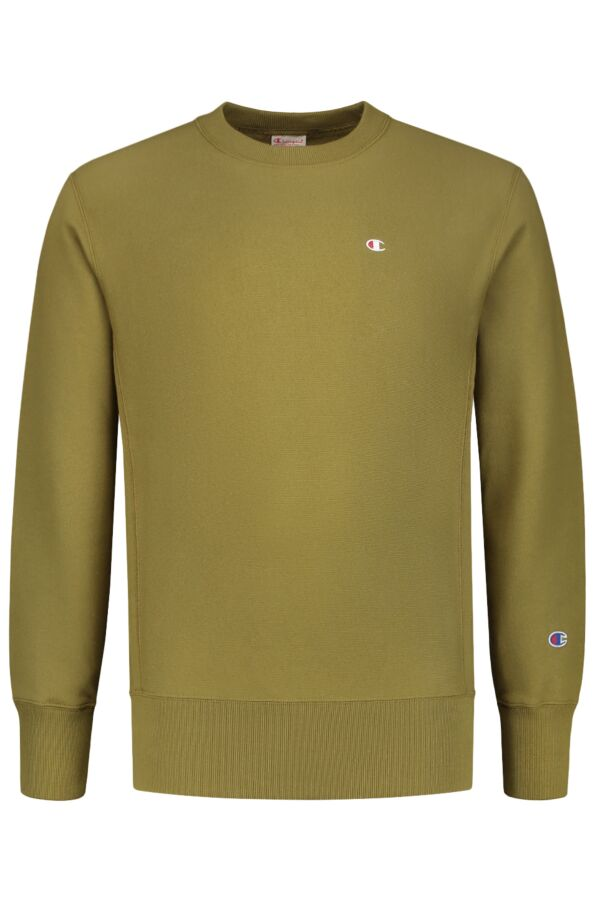 Champion Crewneck Sweater in Army - 212572 GS543 ODB