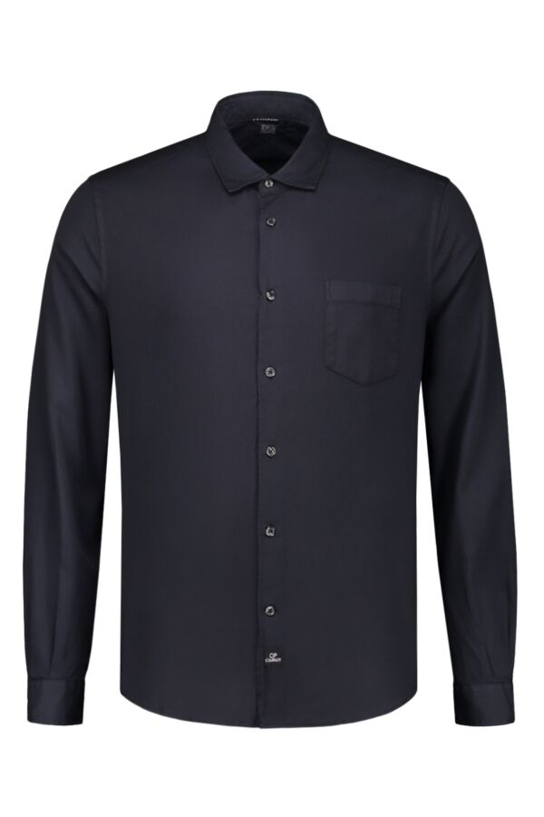 C.P. Company Shirt Honeycomb Total Eclipse - 06CMSH072A 005375O 888