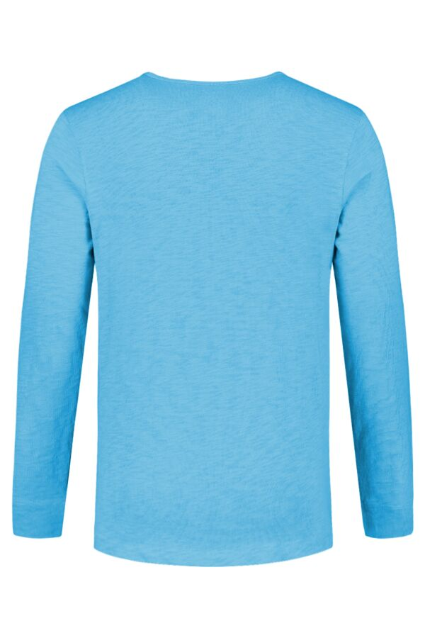 Knowledge Cotton Apparel Cotton Slope Sweat Heritage Blue - 30374 1063
