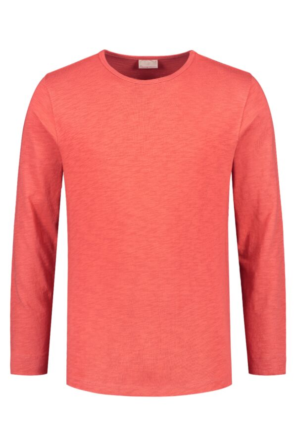 Knowledge Cotton Apparel Cotton Slope Sweat Spiced Coral - 30374 1262