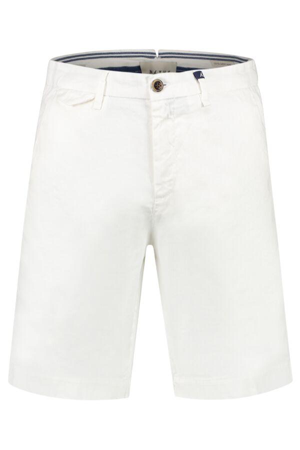 Myths Chino Short in White - 19M74B 79 01