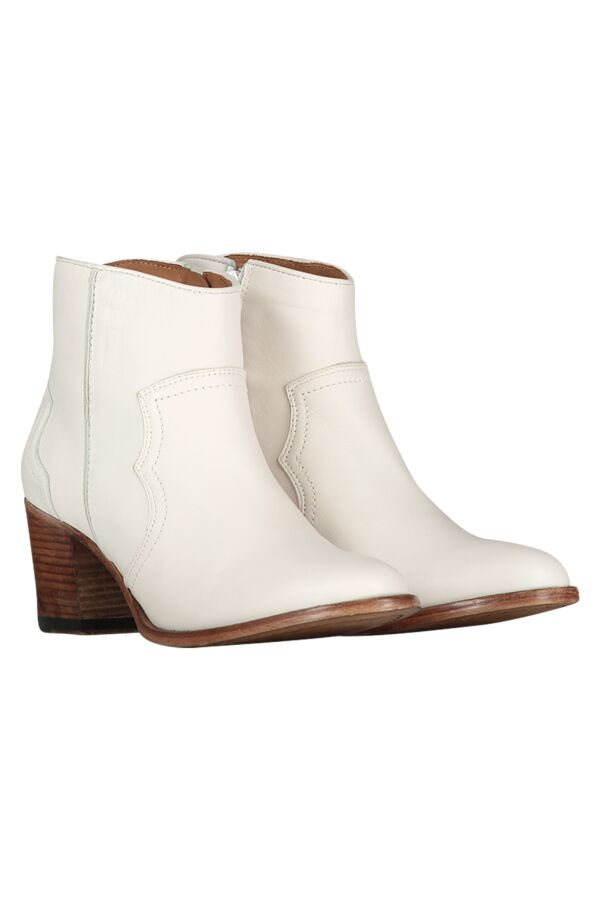 Catarina Martins Karol Soft Leather Boots Off White AB1098SOFTLEAOF