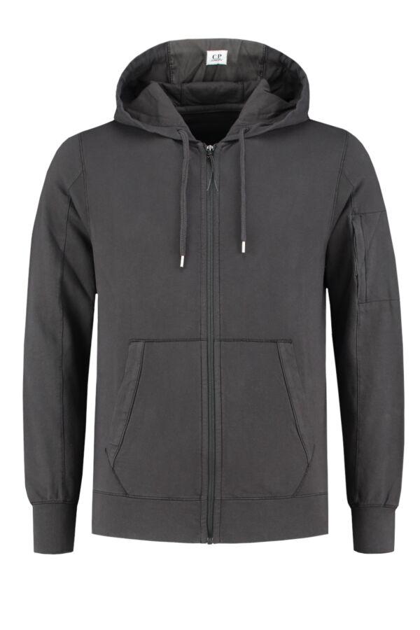 C.P. Company Hooded Zipper Sweat - 06CMSS049B 002249G 999