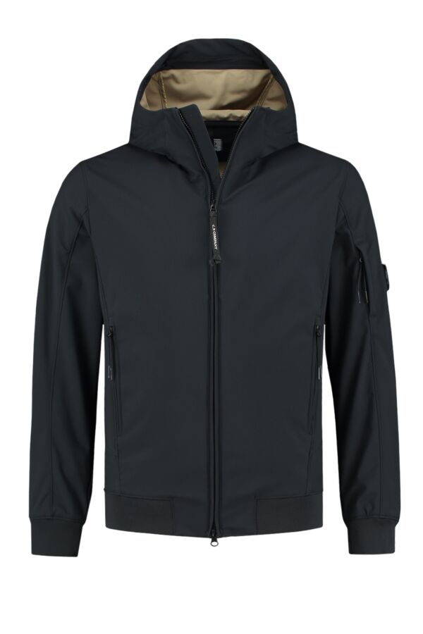 C.P. Company Soft Shell Jacket Total Eclipse - 06CMOW013A 005159A 888