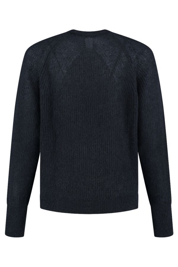 Filippa K Mohair R-Neck Sweater Navy - 25311 2830