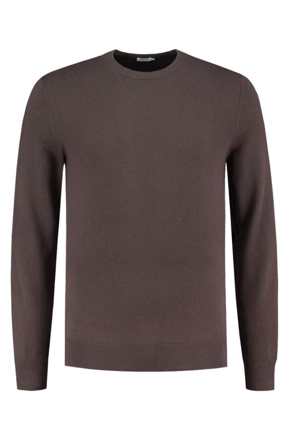 Filippa K Cotton Merino Sweater Dark Mole - 25788 8536