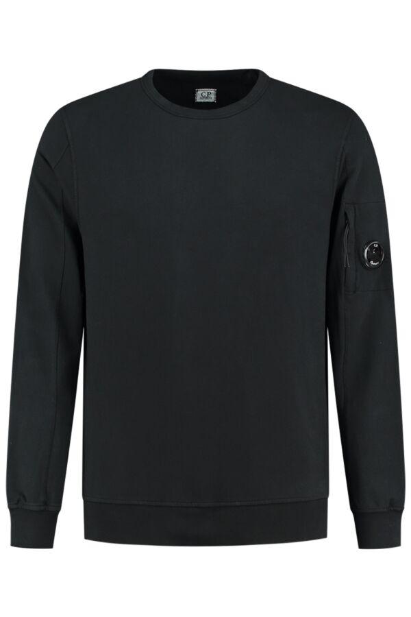 C.P. Company Sweater Crew Neck Black - 07CMSS087A 002246G 999