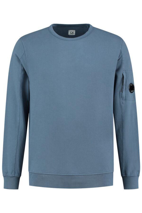 C.P. Company Sweater Crew Neck Dark Denim - 07CMSS087A 002246G 879