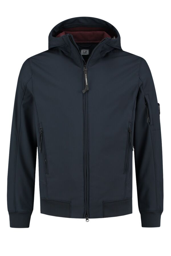 C.P. Company Soft Shell Jacket Total Eclipse - 07CMOW013A 005242A 888