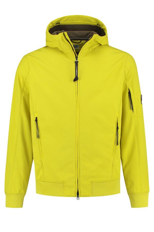 C.P. Company Soft Shell Jacket Sulphur - 07CMOW013A 005242A 220