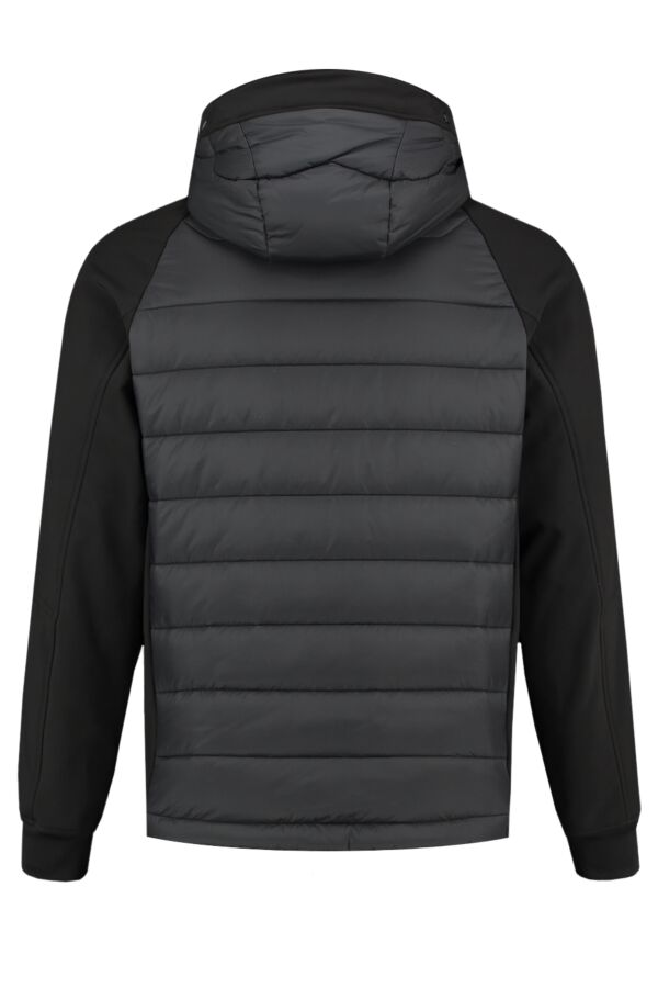 C.P. Company Outerwear Soft Shell Jacket Black - 07CMOW018A 005242M 999