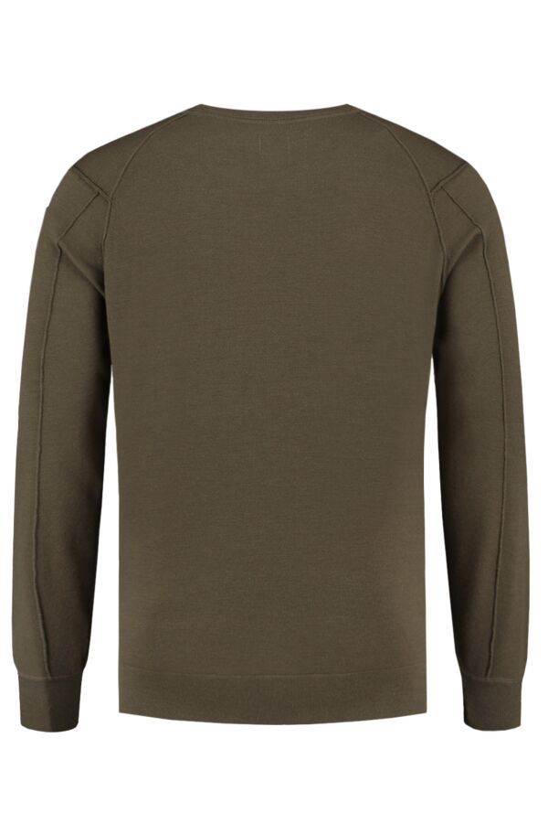 C.P. Company Pullover Crew Neck Dusty Olive - 07CMKN058B 005528A 661