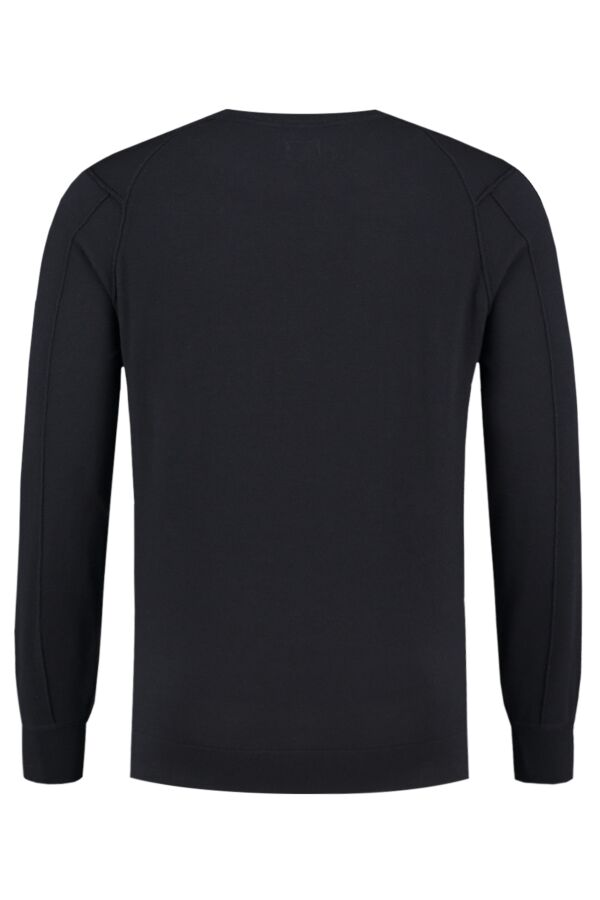 C.P. Company Pullover Crew Neck Total Eclipse - 07CMKN058B 005528A 888