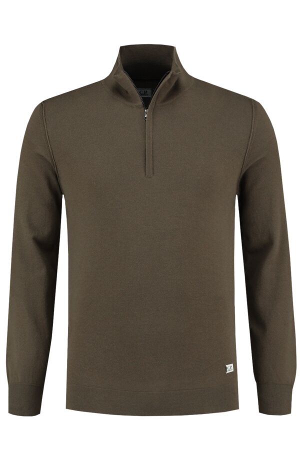 C.P. Company Pullover Turtle Neck Dusty Olive - 07CMKN059B 005528A 661