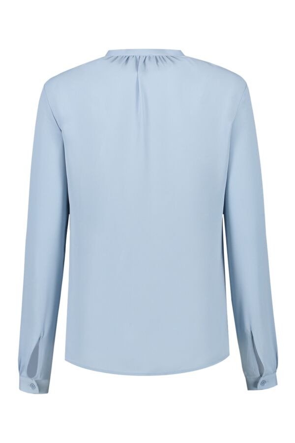 Filippa K Adele Blouse 26516 Frosty Blue 8491