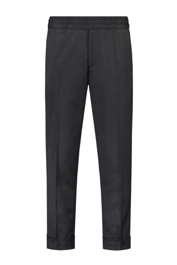 Filippa K Terry Cropped Trouser Black - 22023 1433