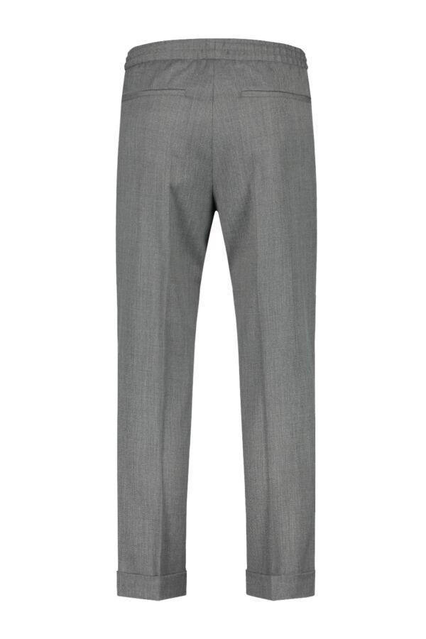 Filippa K Terry Cropped Trouser Grey Mel. - 22023 1448