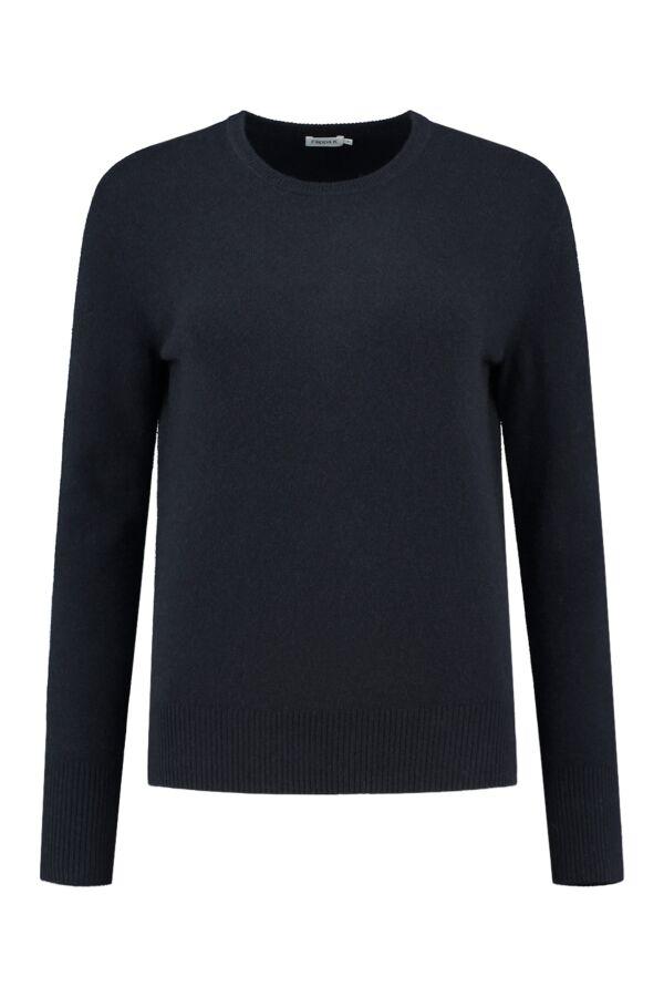 Filippa K Cashmere R-Neck Sweater Navy - 25441 2830